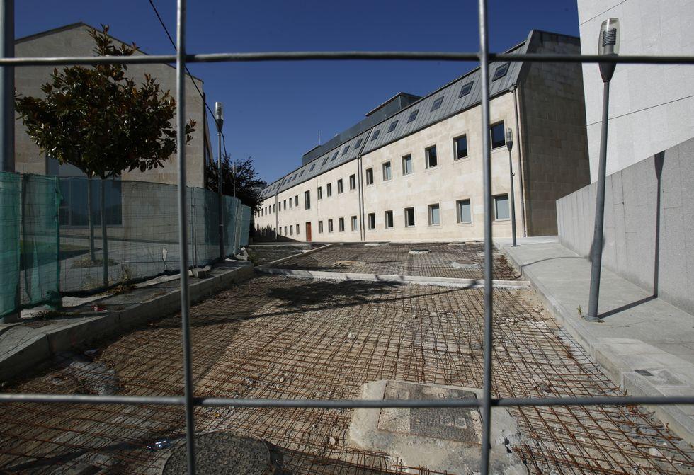 Dimite José Araújo, portavoz del PP en el Concello de Ourense.Las obras marchan a buen ritmo y el Gobierno ya trabaja en la dotación del equipamiento.