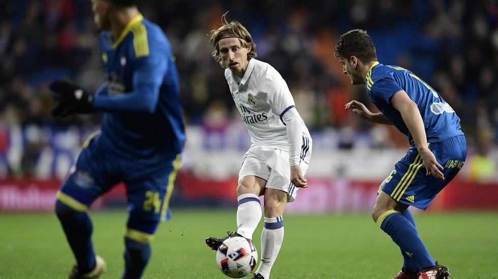 Real Madrid 1 - Celta 2 en Copa (18 de enero)