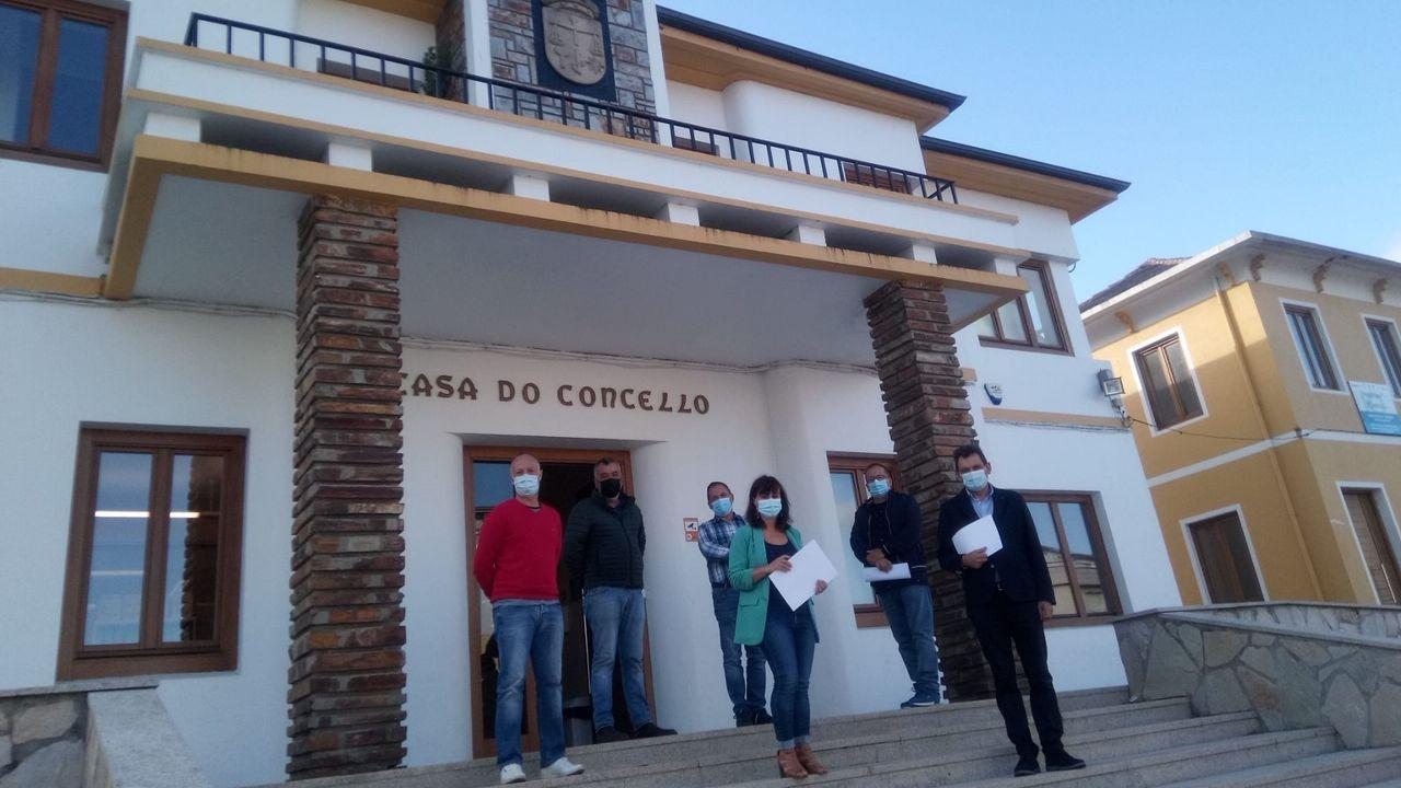 Xela na casa do escritor Xosé Luís Franco Grande