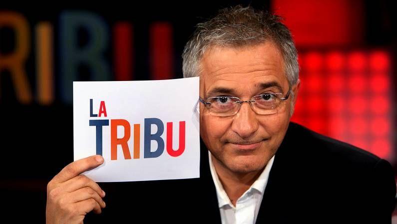 Javier Sardá en una imagen promocional del programa «La Tribu».