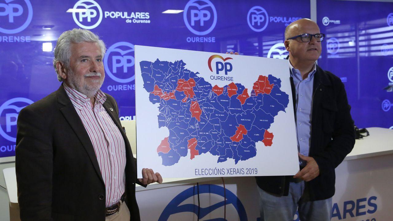 La trayectoria política de Pérez Rubalcaba en imágenes.Cayetana Álvarez de Toledo y Pablo Casado, en un acto electoral en Barcelona