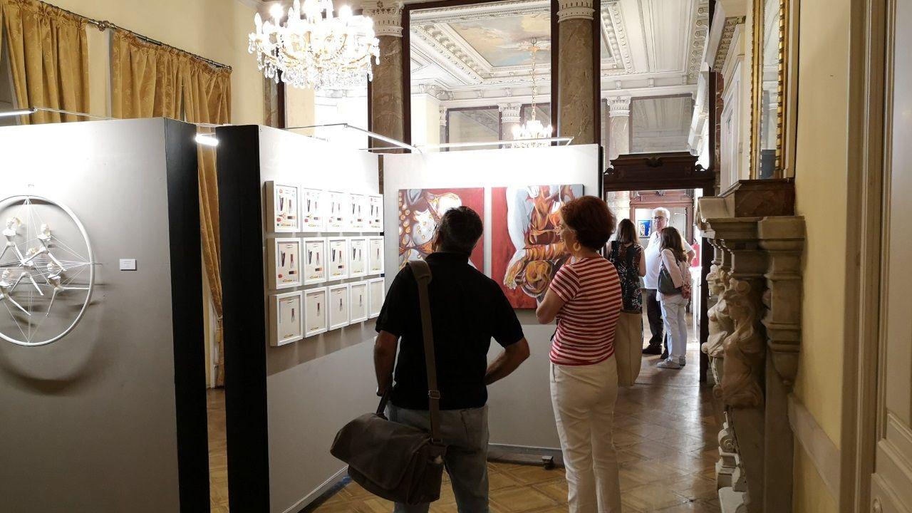 Exposición en la sede del centro gallego en Lisboa
