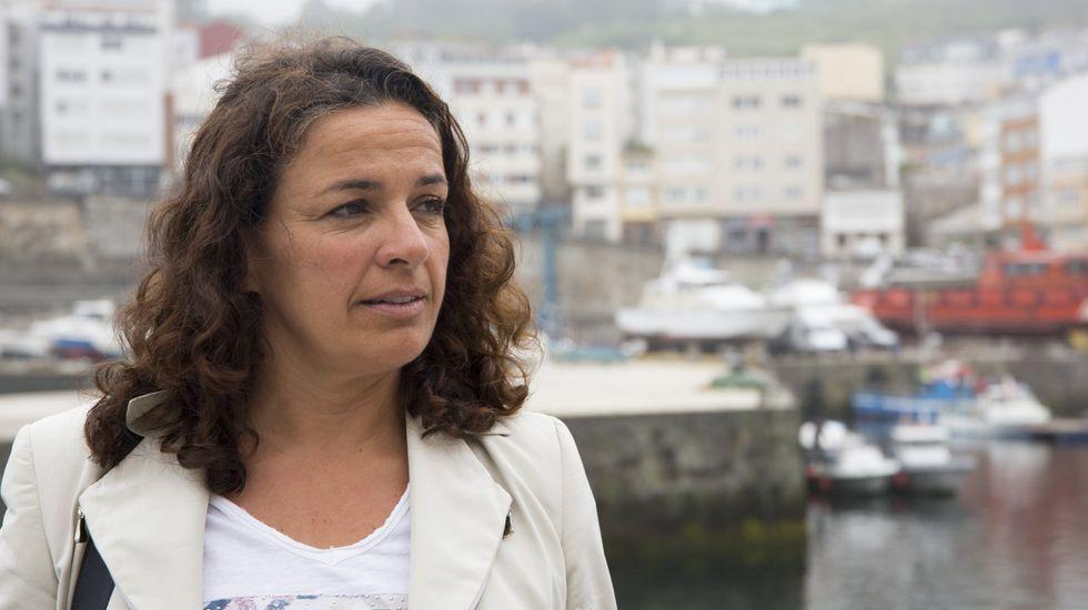 Susana Lenguas, presidenta de Portos de Galicia