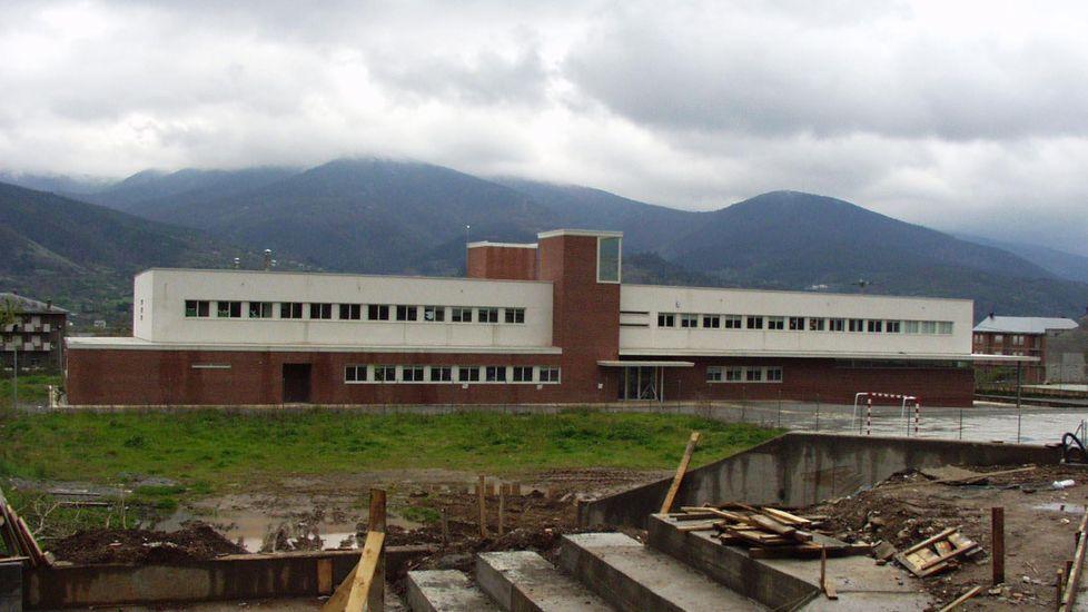 La trayectoria de Cabanelas en imágenes.Fotografía de archivo del instituto de Quiroga
