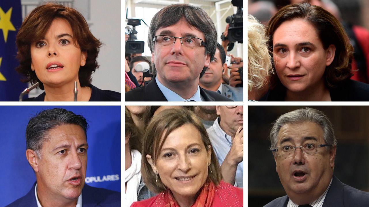 Esto es lo que han dicho los políticos sobre el 1-O.Juan Ignacio Zoido