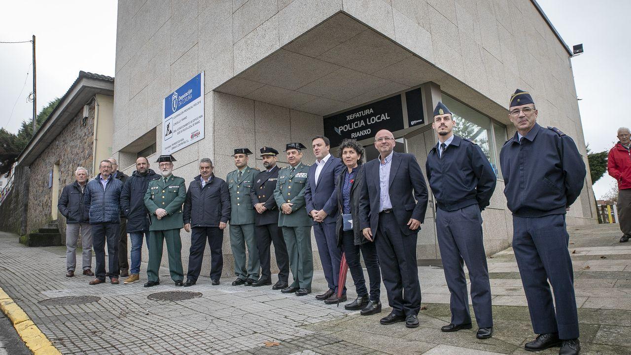 ¡Mira aquí las imágenes de la nuevasede la Policía Local de Rianxo!