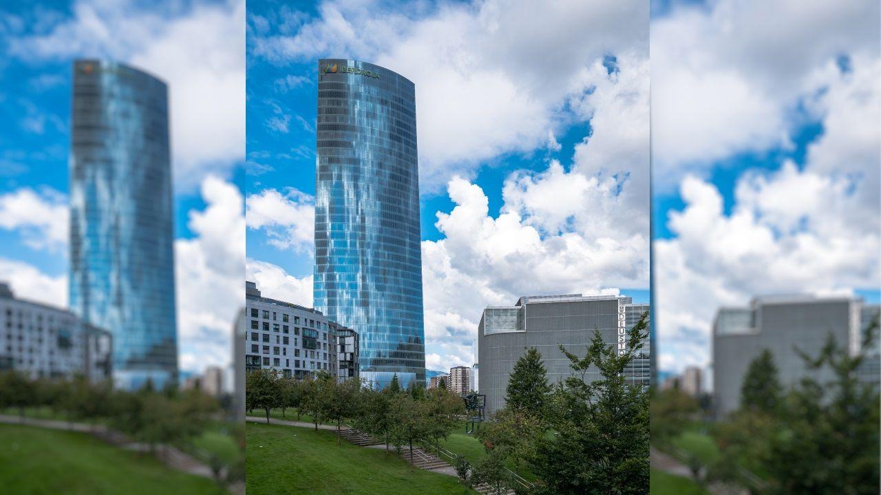 TORRE IBERDROLA (Bilbao) - El edificio tiene un total de 41 plantas y una altura de 165 metros