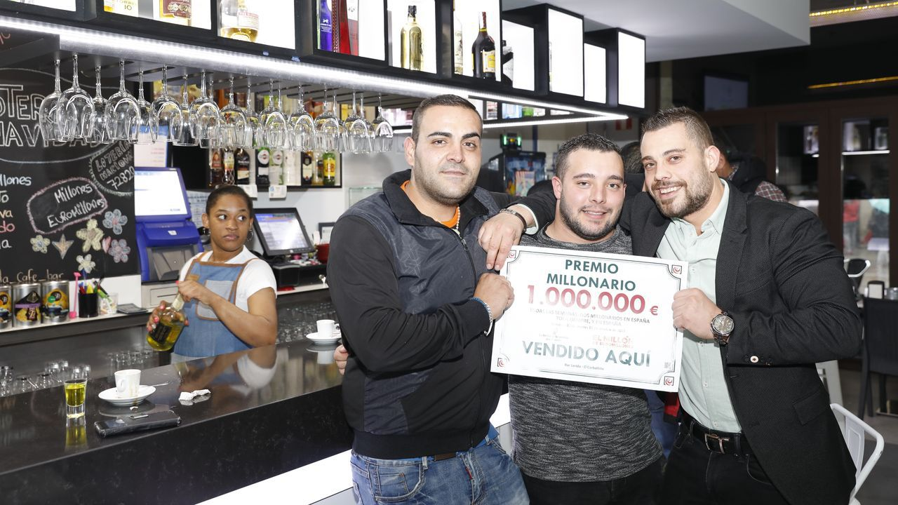 Nueva noche de altercados y enfrentamientos en Barcelona.Manuel Reija, el lotero coruñés, en una imagen de archivo