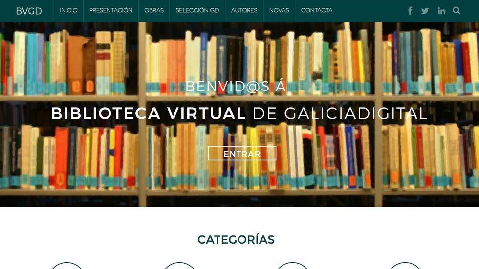 Páxina web de GaliciaDigital
