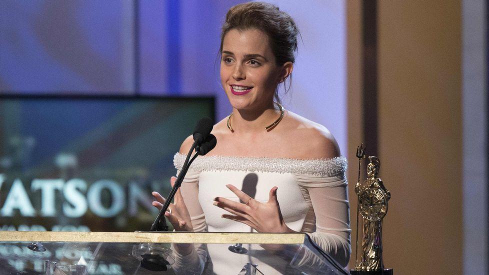 El presidente del Comité de Relaciones Exteriores del Senado, Bob Corker..En el apartado de pioneros. Emma Watson, actriz.