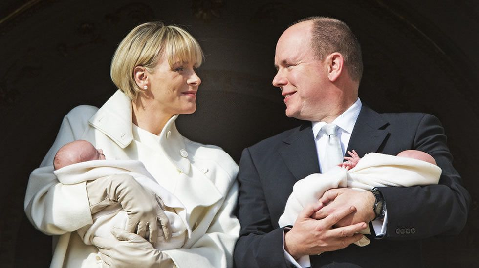 Los príncipes de Mónaco visitan al Papa.Decoración de la 67 edición de la gala anual de la Cruz Roja en Mónaco