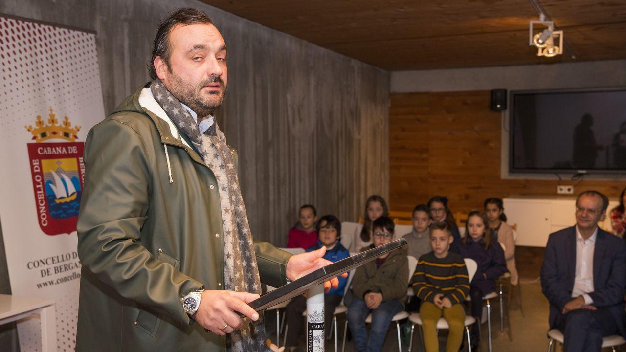 O representante de EDP Renovables en Galicia, Juan Rey