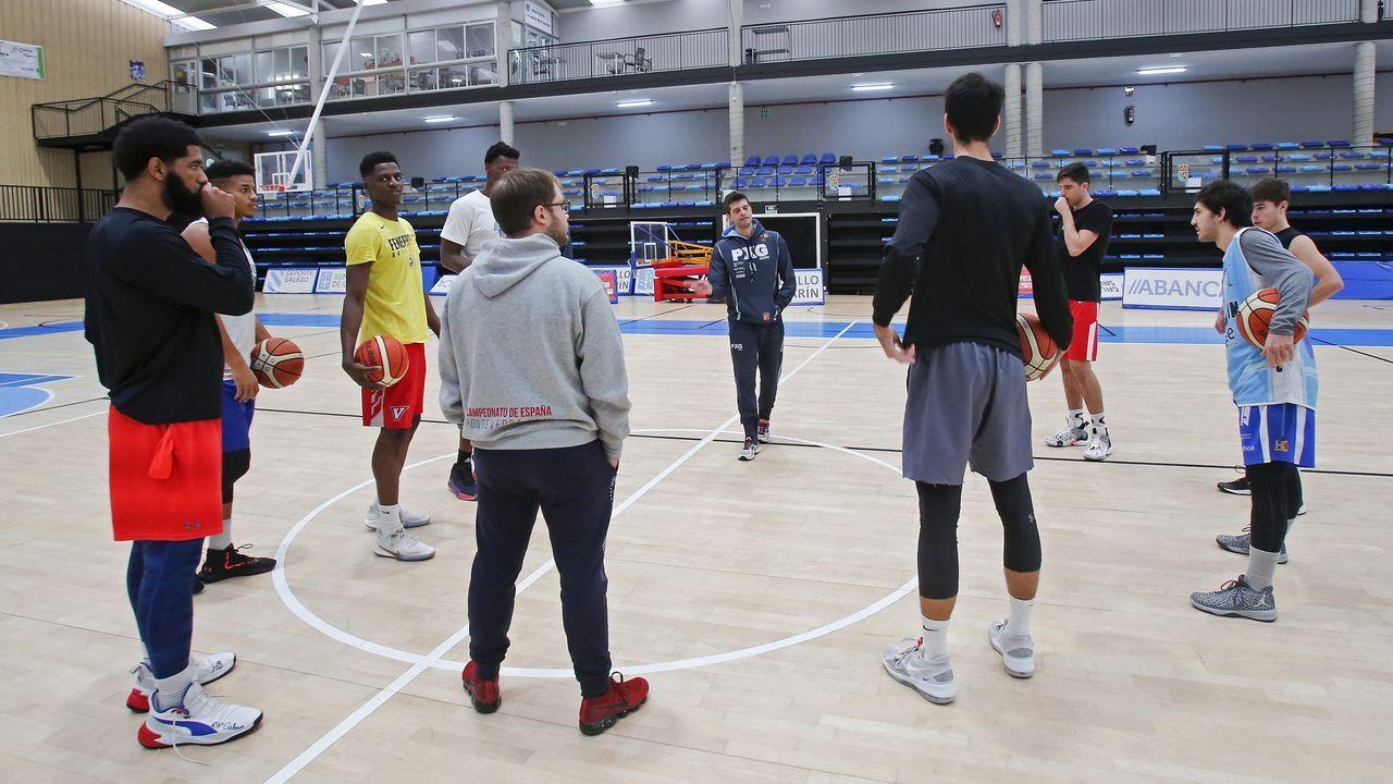 Las imágenes del Baloncesto Peixe Galego - Ourense