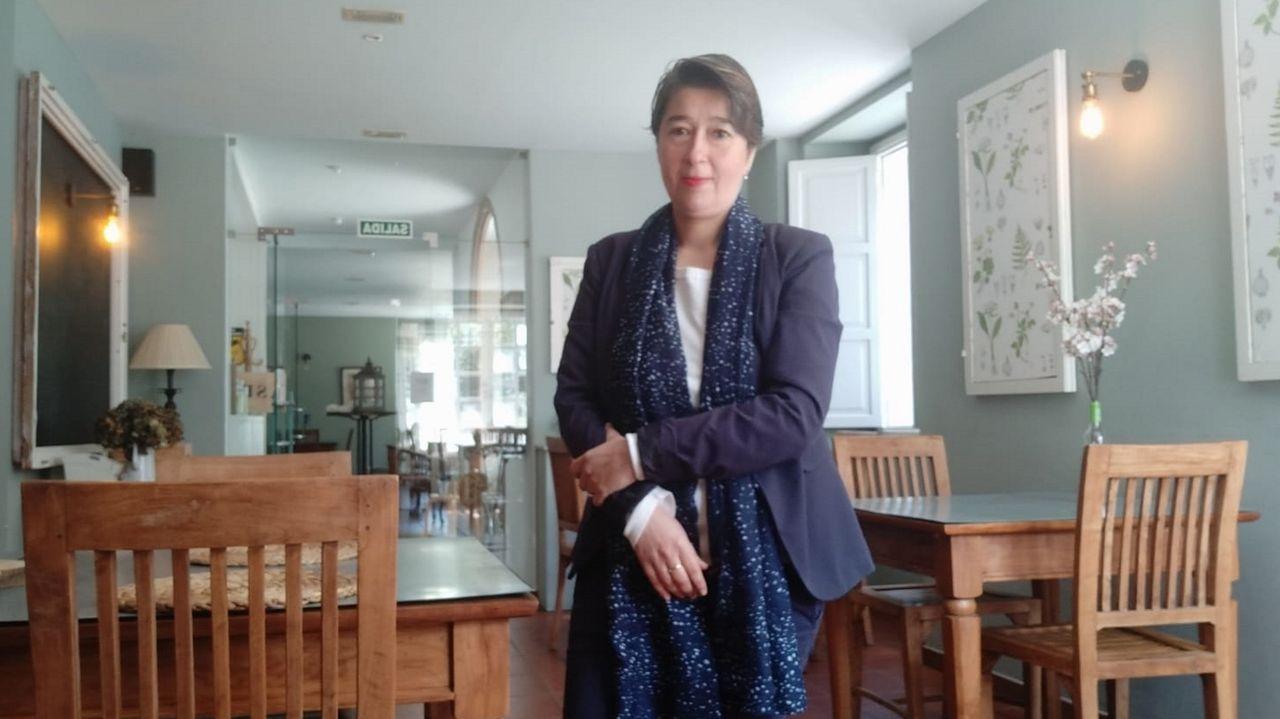 Olga Gómez es la directora del hotel Pesquería del Tambre de Noia