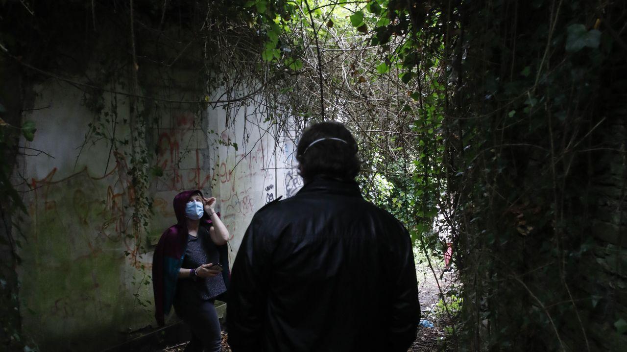 O barrio do Carme é unha das zonas que visitaron