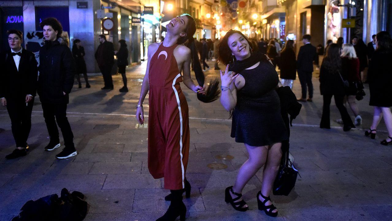 El final de la fiesta, en imágenes.Camino de Santiago