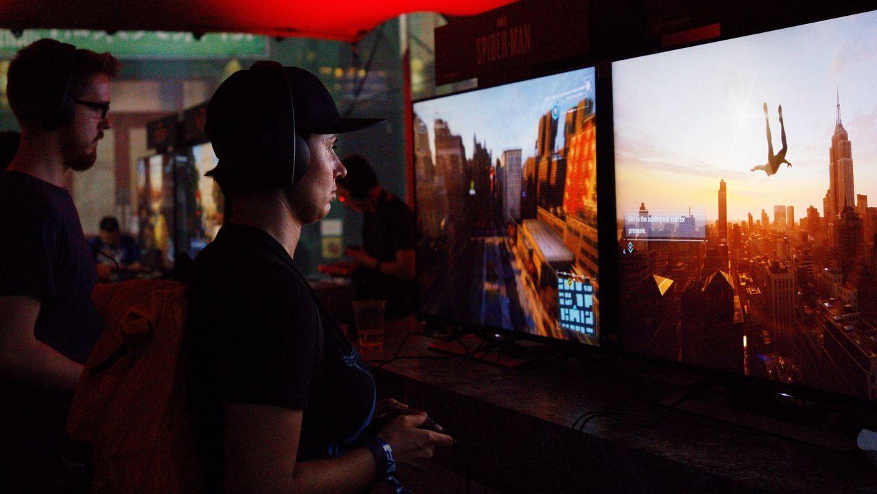Público en la Electronic Enterntainment Expo de Los Ángeles, una de las ferias de referencia en el sector
