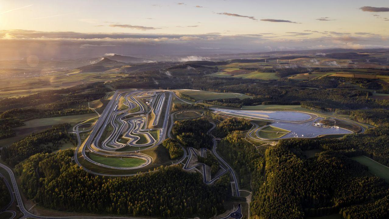 circuito de coches autónomos de Mercedes