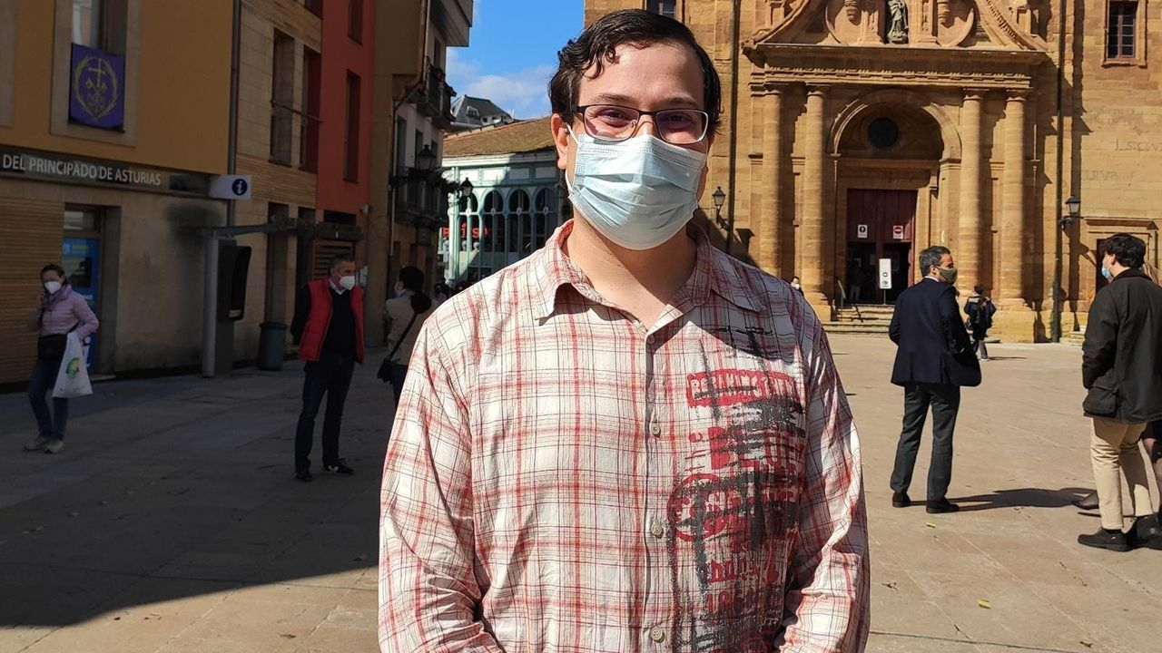 Diego Valiño, concejal del PSOE de Oviedo