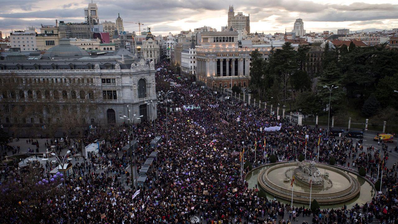 Manifestacion del 8M en Madrid