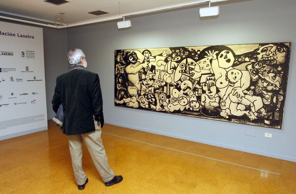El catálogo universal de la obra de Laxeiro está compuesto por 3.581 piezas.