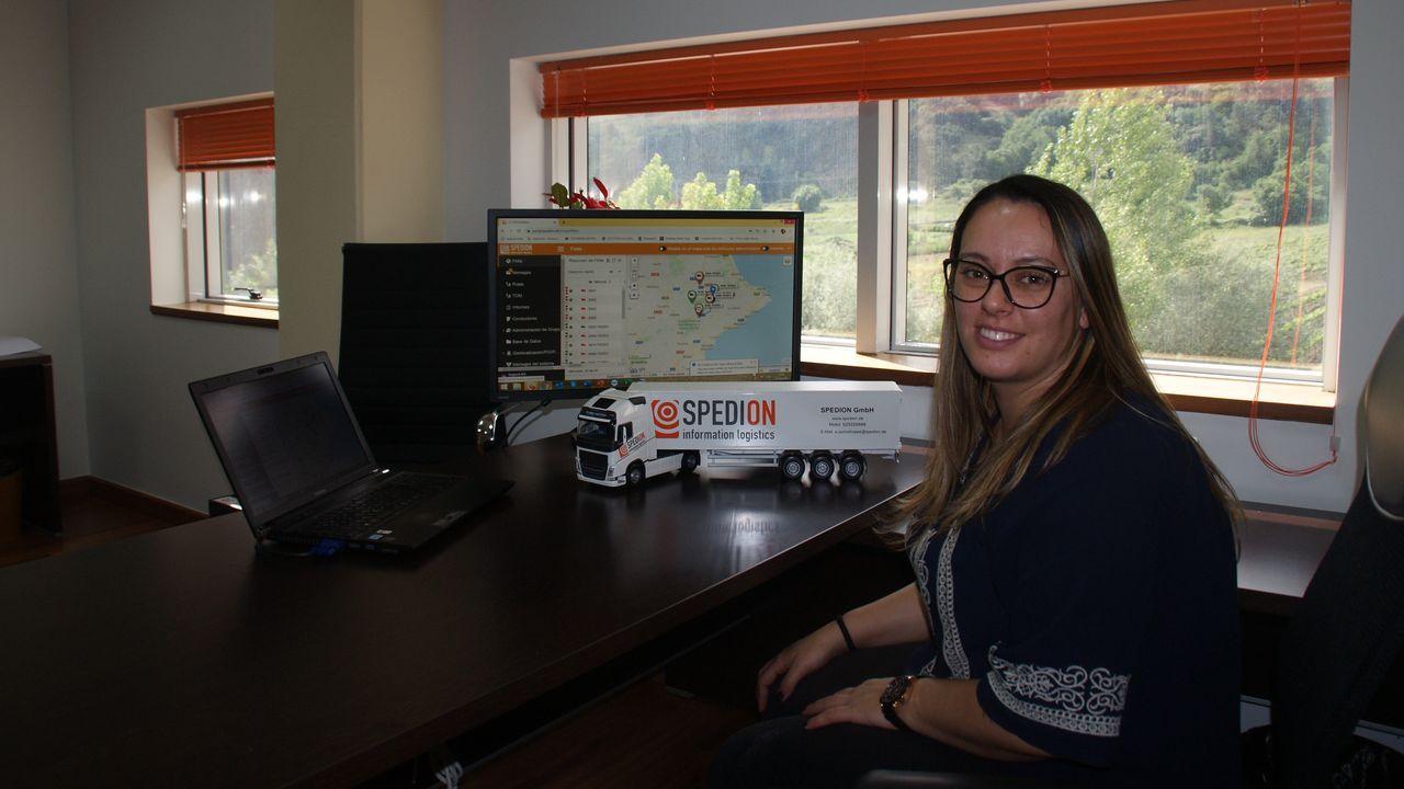 Beatriz García es la directora ejecutiva de Spedion