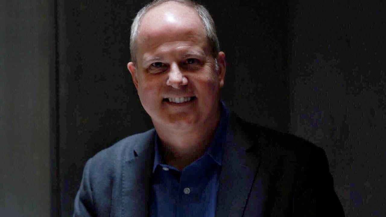 El escritor italiano Fabiano Massimi (Módena, 1977), autor de «El ángel de Múnich»