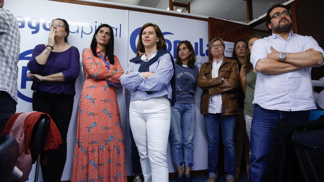 Seguimiento de los resultados en el PP de Santiago