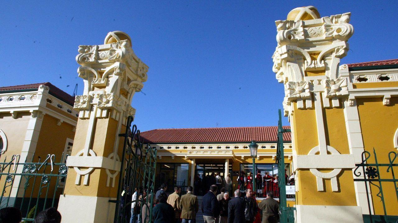 El parque canino de Eirís, en A Coruña, se estrenó el pasado mes de junio