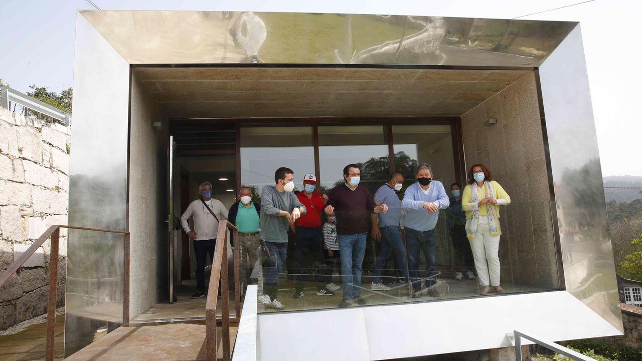 Nuevo local social en Cacheiro, en la parroquia pontevedresa de A Canicouva