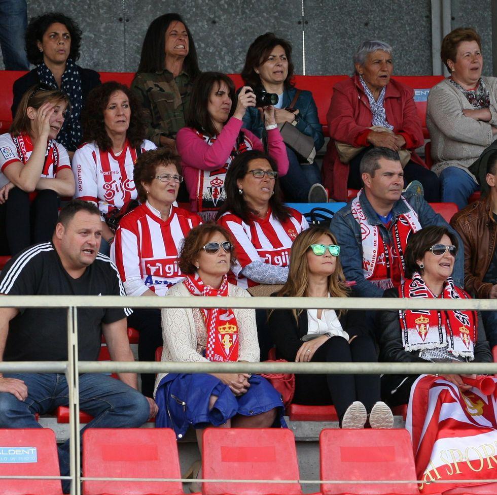 La afición del Sporting de Gijón fue la que más se hizo notar en el primer día del torneo.