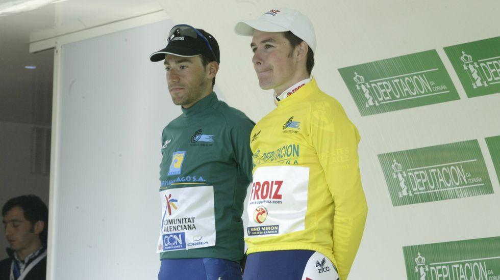 Victoria en la Vuelta a A Coruña del 2007