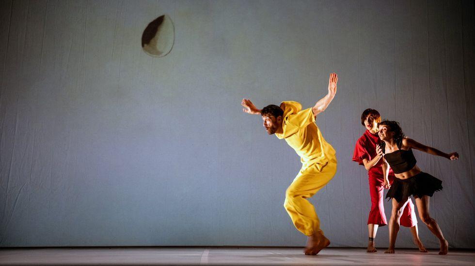 Danza Baal pone en escena en Vilalba «MiraMiró».