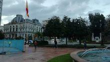 Adiós a los bancos arcoíris en La Escandalera