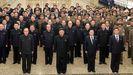 Kim Jong-un, este mes en el Palacio del Sol de Kumsusan