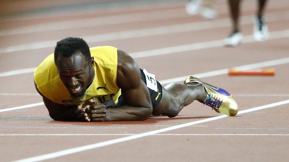 Un puente centenario en decadencia.Bolt no llegó ni a cruzar la meta