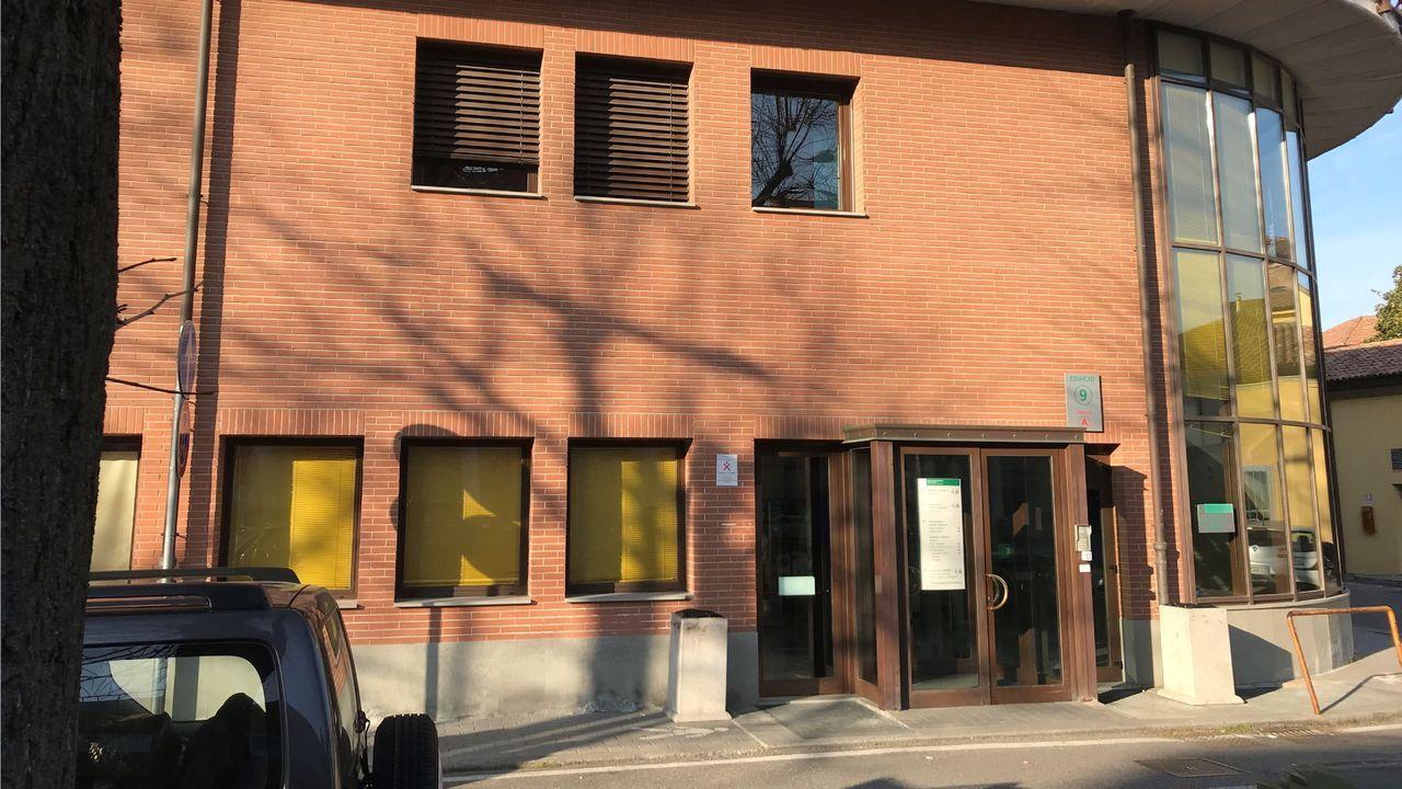 Exterior del hospital de Piacenza