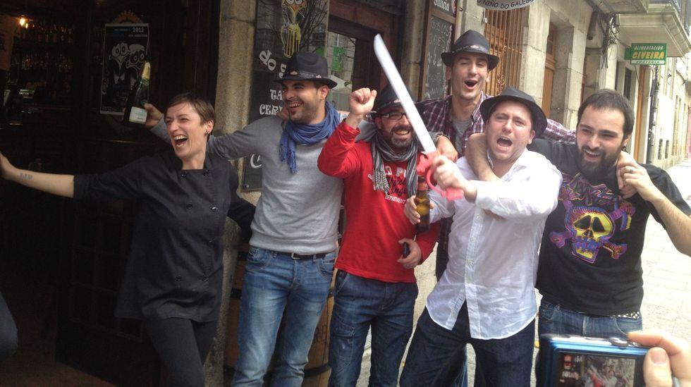 Agraciados por la lotería en Vigo en el año 2012