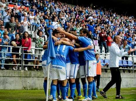El equipo carbayón, que visita el domingo A Malata, viene de superar a la UD Logroñés.