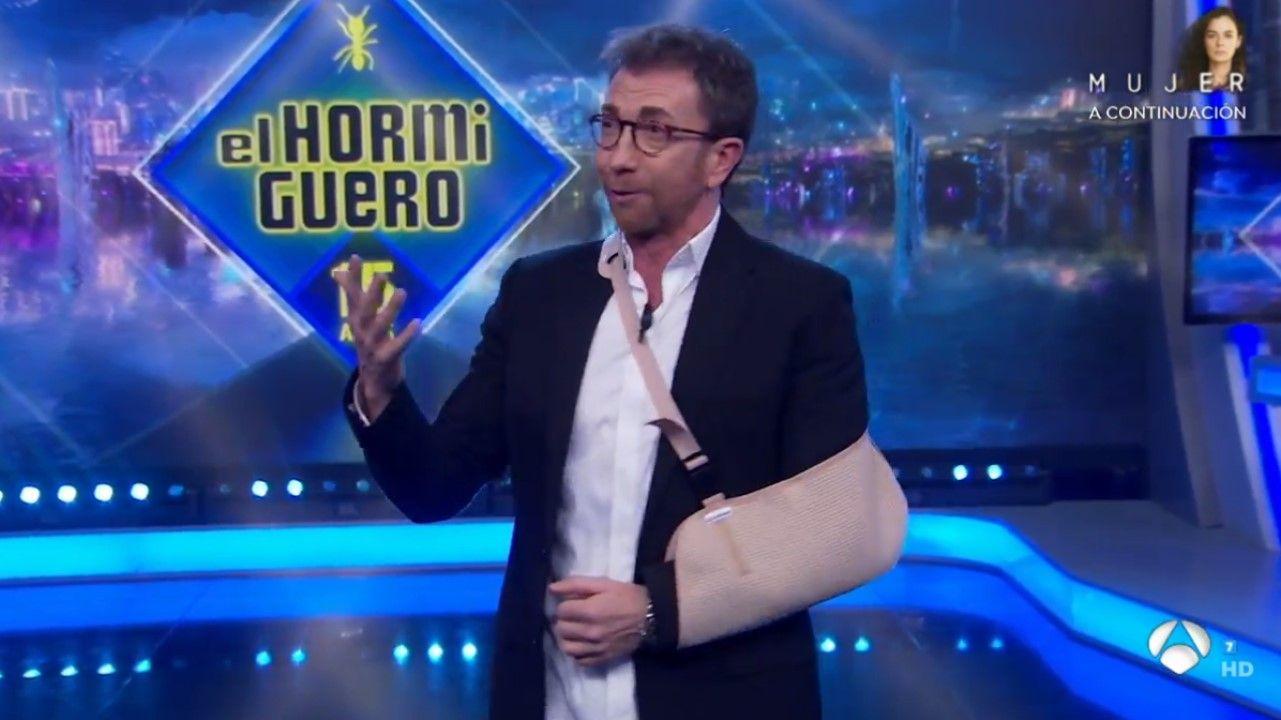 Pablo Motos, en «El Hormiguero»