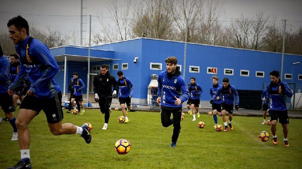 Michu Real Oviedo Nastic Carlos Tartiere.Michu en el entrenamiento de esta mañana