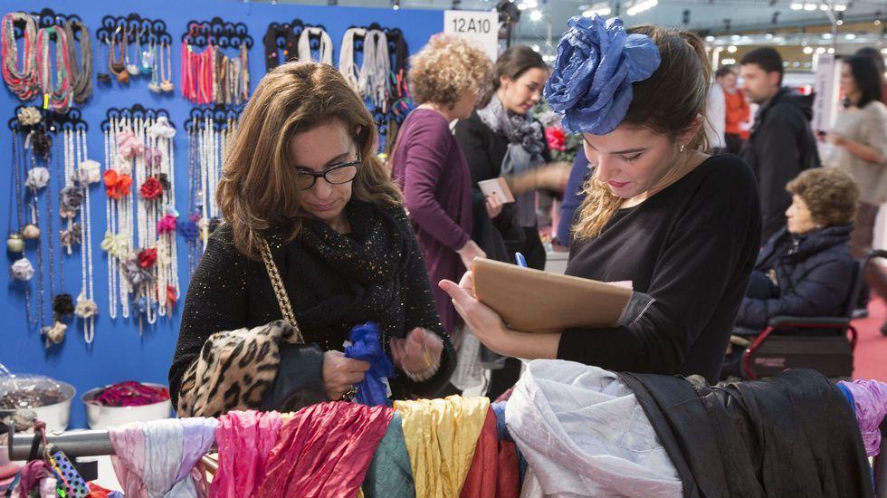 Desigual inaugura la Mercedes-Benz Fashion Week.Imagen de la última edición de la feria Momad Metrópolis, celebrada en septiembre pasado