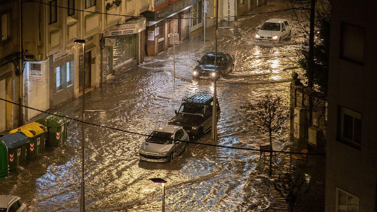 Inundaciones en la calle Fernando Olmedo