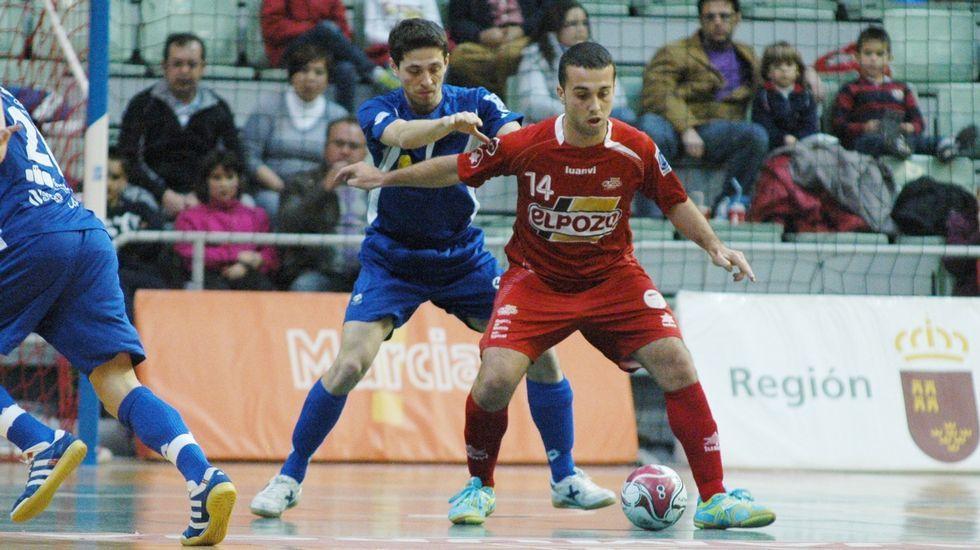 Las mejores imágenes delWorld Press Photo.Adri juega en ElPozo Murcia