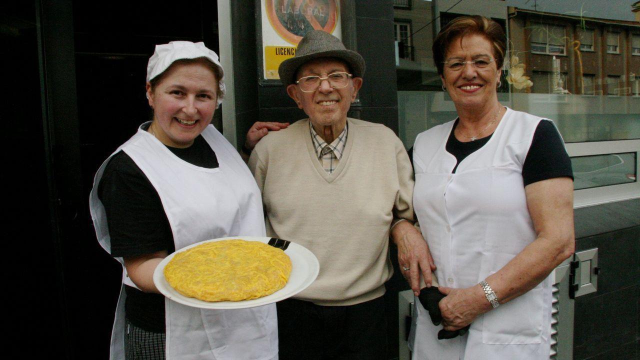 Sinuessa, ganador concurso tortilla de Betanzos 2018