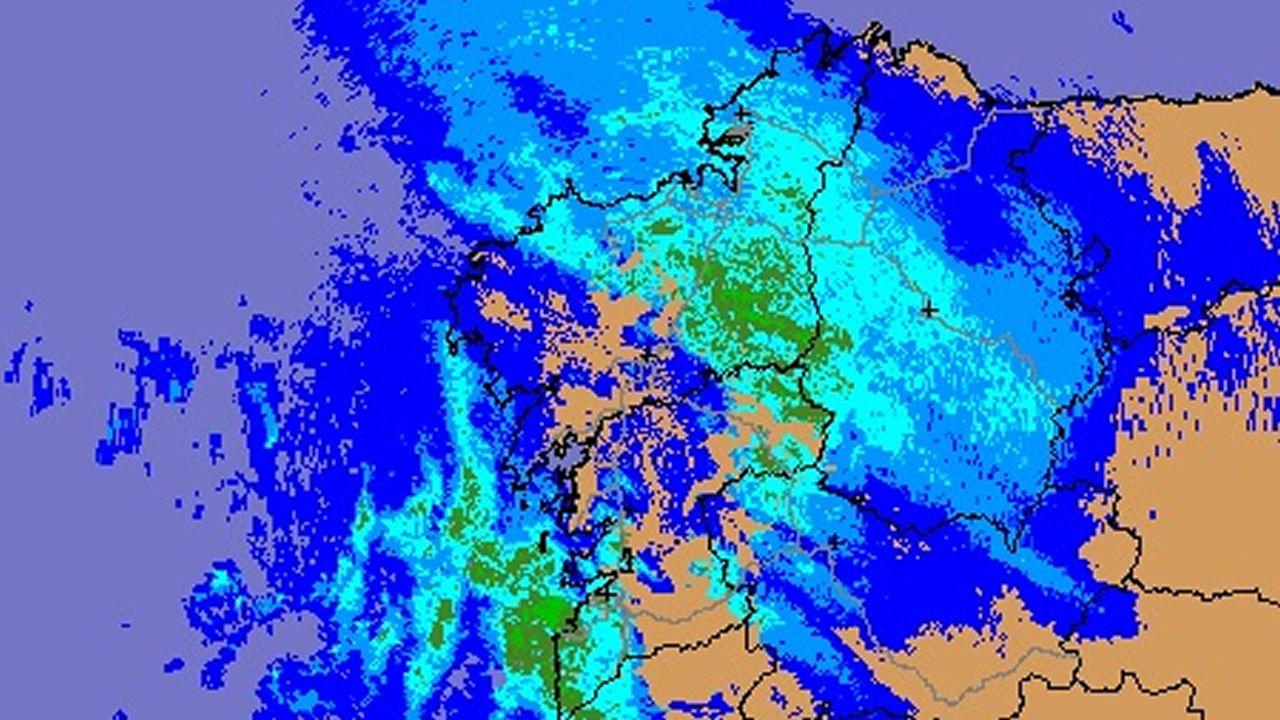 ¿Cómo detecta la lluvia un radar?