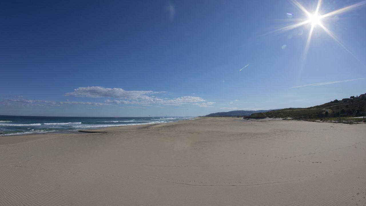 Praia de Razo (Carballo).