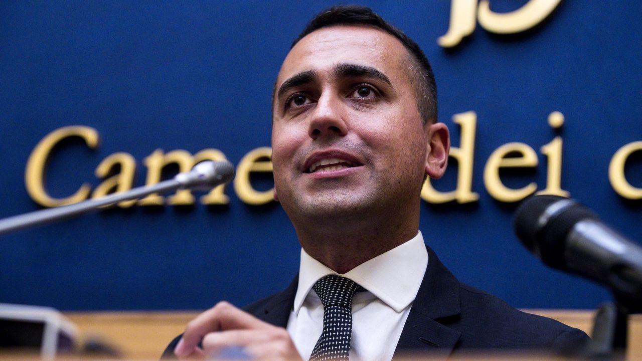 El nuevo ministro de Exteriores y líder del Movimiento 5 Estrellas, Luigi Di Maio
