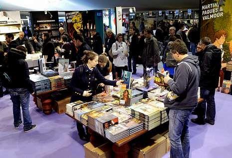 El festival de cómic de Angulema espera superar los 200.000 visitantes del 2013.