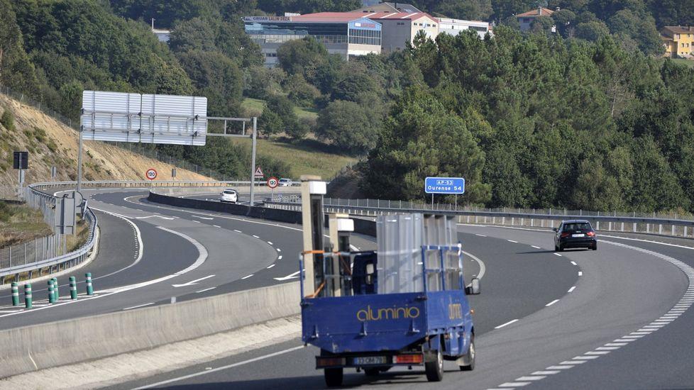 La autopista AP-53 muestra fuertes incrementos de utilización en los tramos libres de peaje.